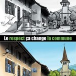 Le respect, ça change La commune
