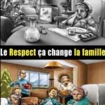 Le respect, ça change La famille