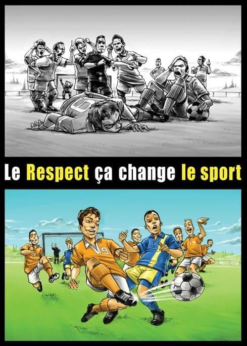 Le respect, ça change Le sport